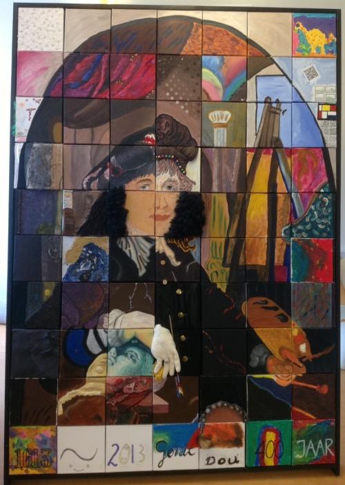 Buren-schilderij Gerrit Dou